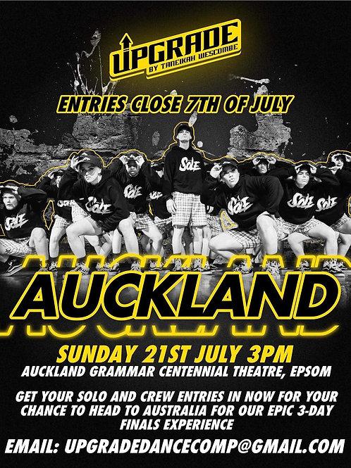 Adult Auckland Qualifier Spectator Ticket