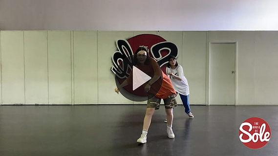 Beginner urban choreography with Georgia