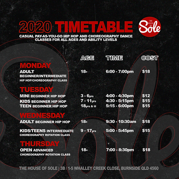Sole Sunshine Term 1 Time Table.png