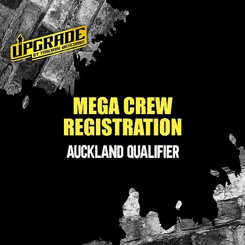 MEGA CREW REGISTRATION AUCKLAND