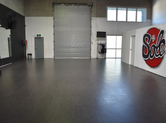 The Dance floor space