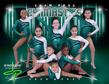TEAM PBAC, Girls gymnastics, Green leotard, gymnastics near me, gymnastics for kids near me, palm beach athletic complex, tumbling near me, tumbling for kids near me