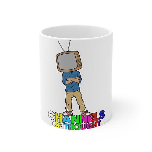 TV Head Guy Mug