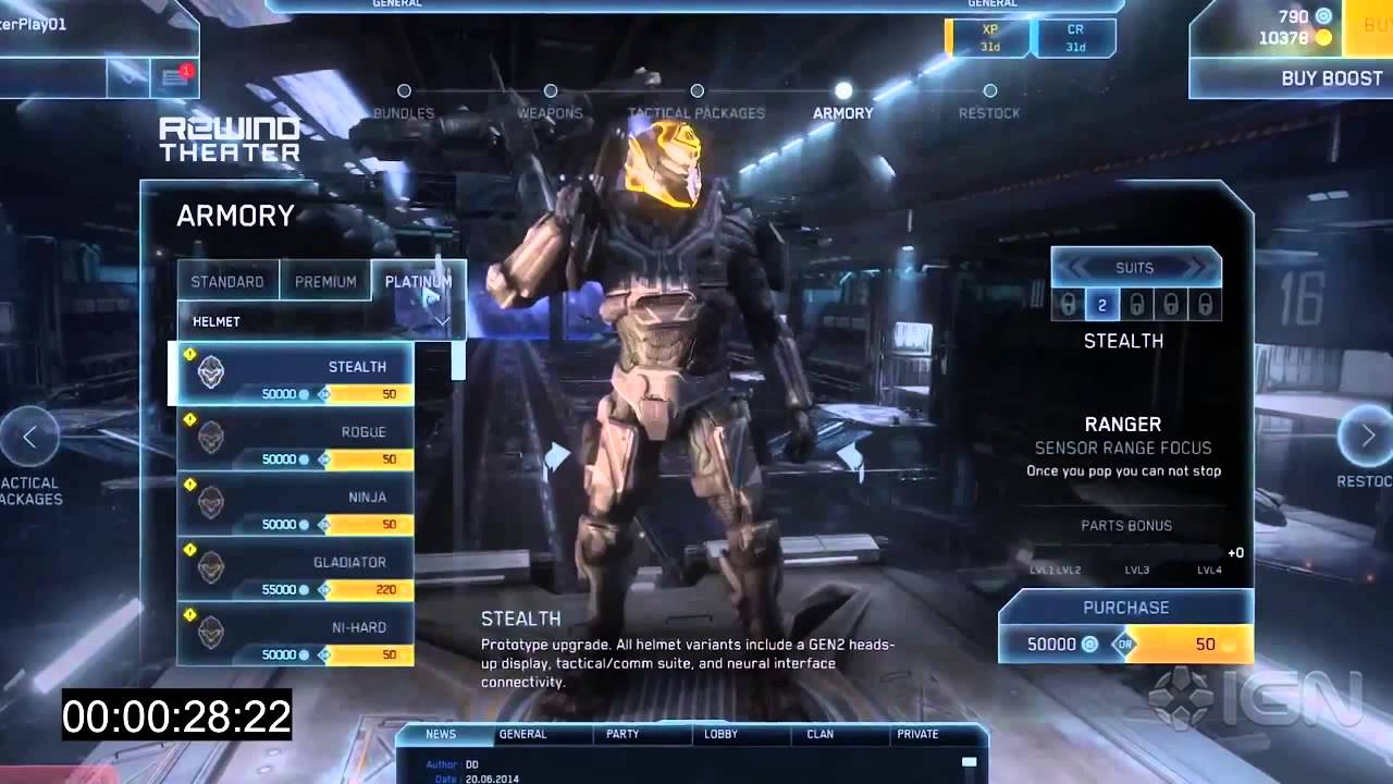Halo Online Alpha Account