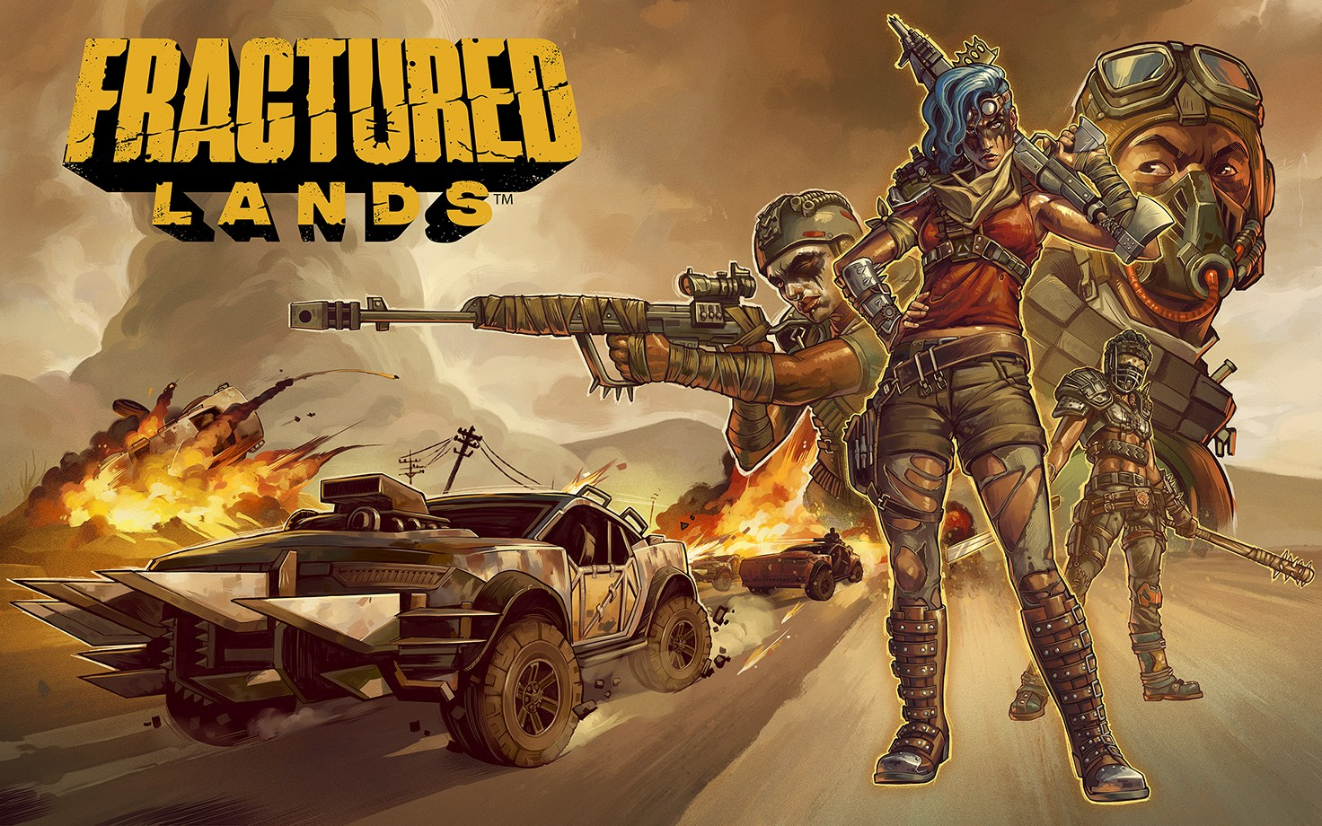 fractured lands beta key
