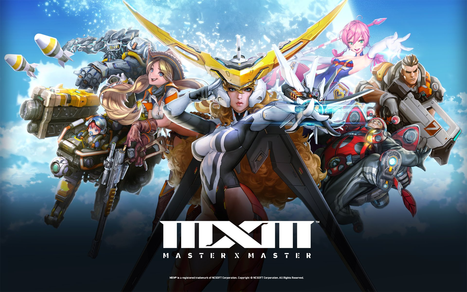 master x master closed alpha key