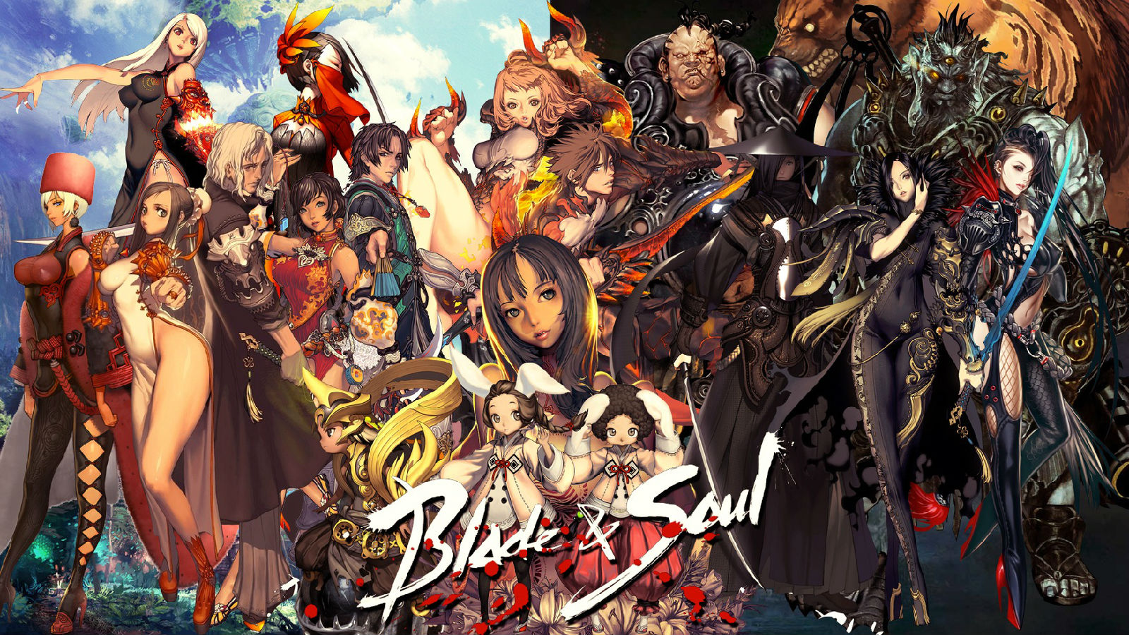Blade and Soul KR beta account