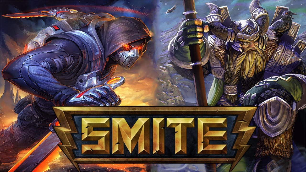 Smite closed alpha key