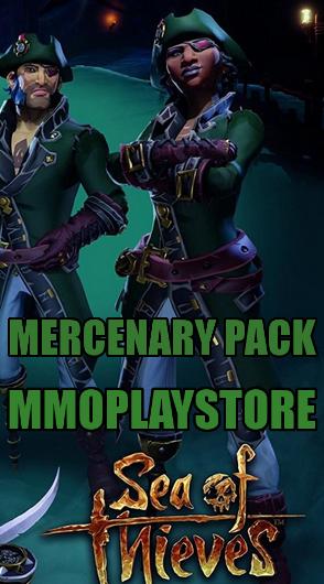 sea of thieves Mercenary pack dlc