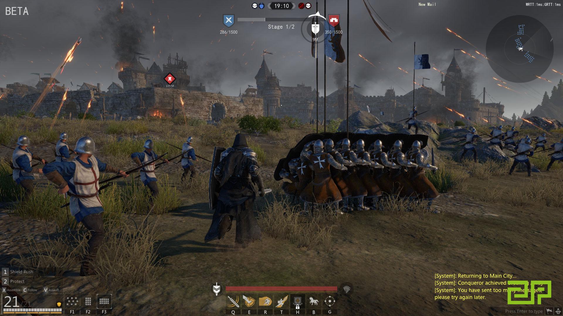 conquerors blade beta key