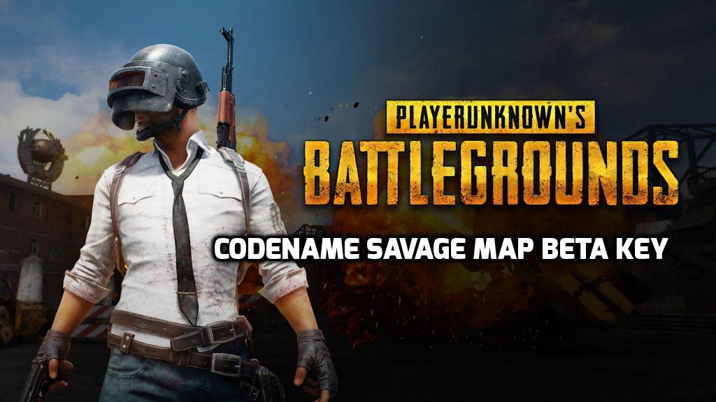 pubg codename savage beta key
