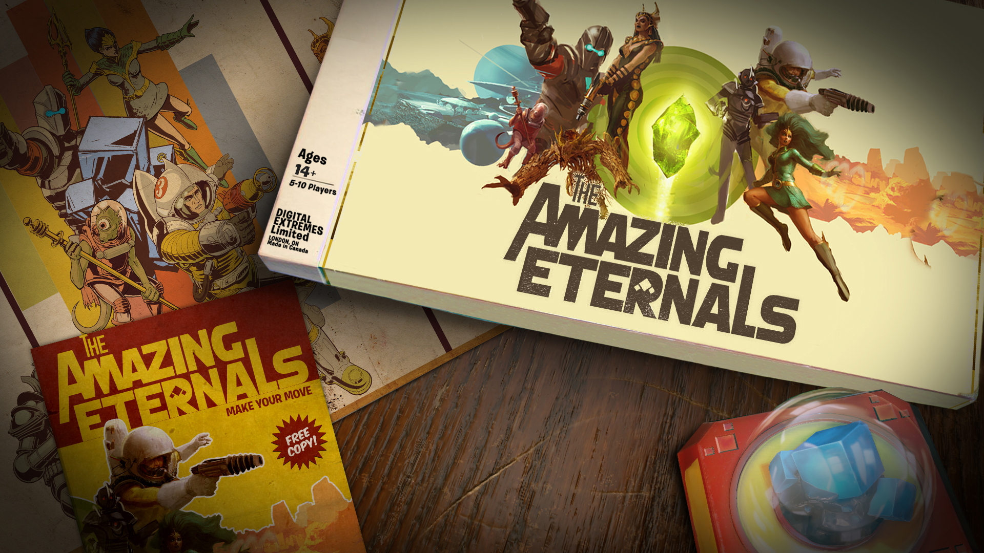The Amazing Eternals beta key