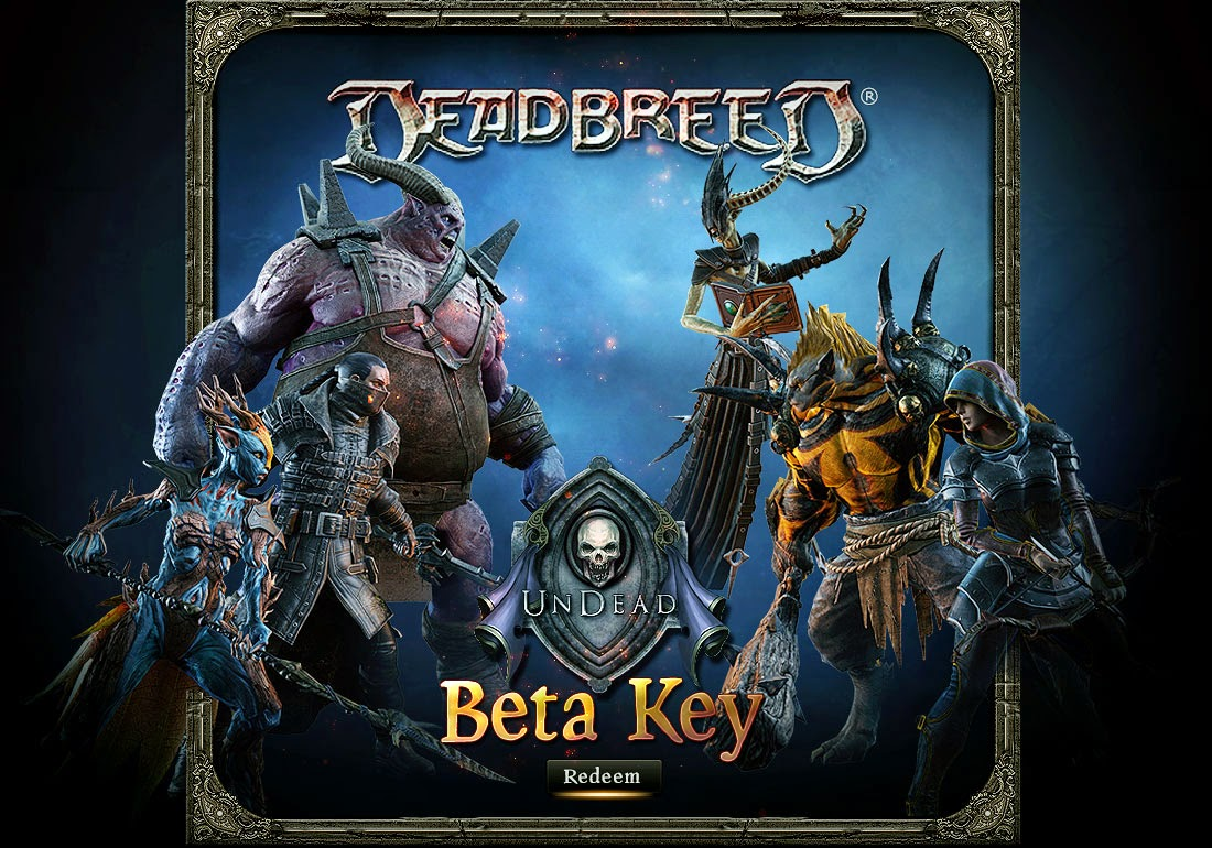 Deadbreed closed beta key