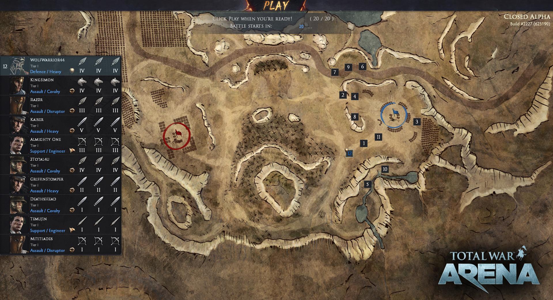 buy Total War arena beta key