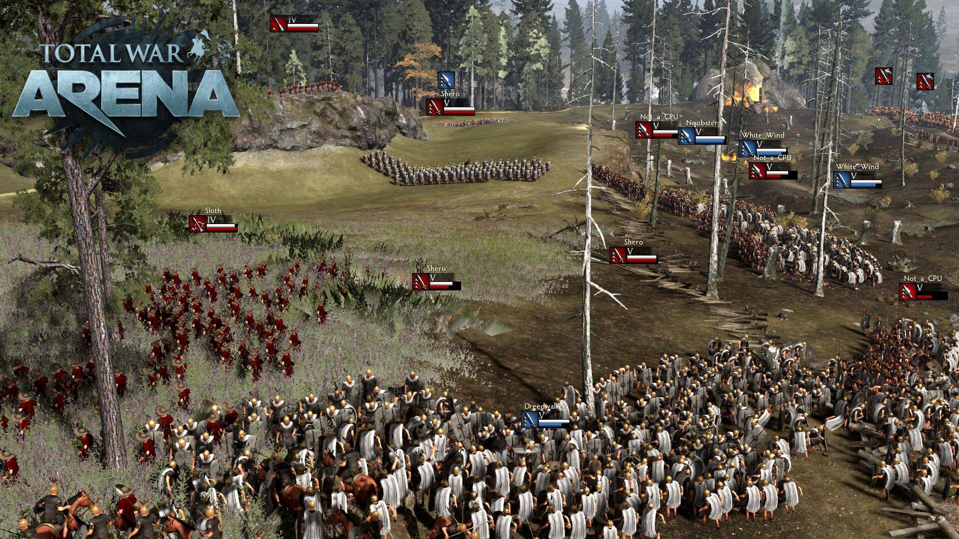 Total War arena beta keys