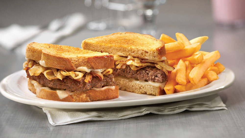 Friendly's Patty Melt