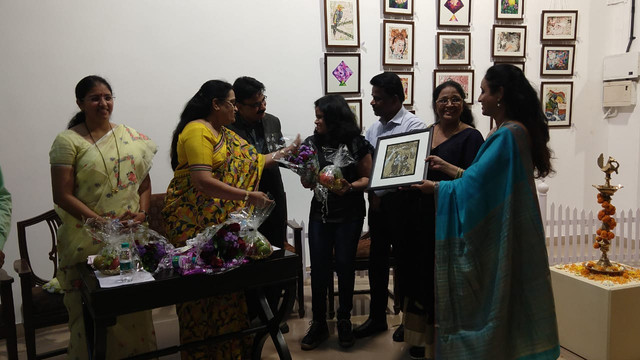 Felicitated by Vice Chancellor of SNDT Women's University