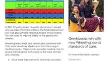 Greyhound Safety at Wheeling Island