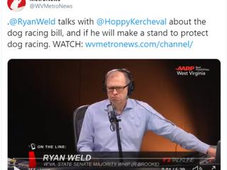 Ryan Weld talks with Hoppy Kercheval on Metro News