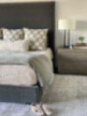 Master Bedroom - Smooth Bedding & Remove