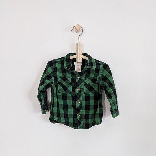 Joe Fresh Plaid Button Down Shirt (12-18m)