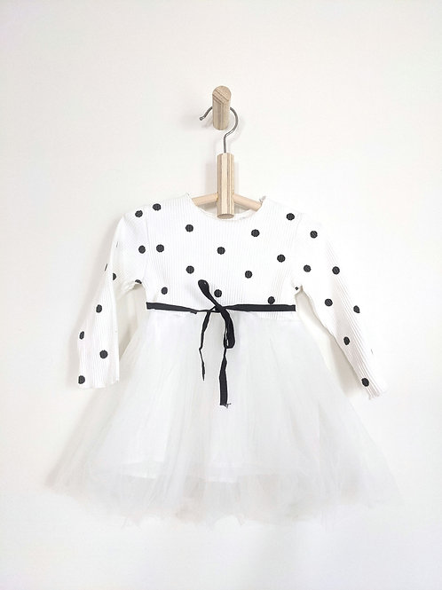 Polka Dot Party Dress (2T)