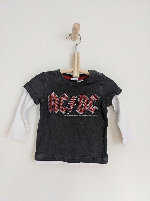 H&M ACDC Long Sleeve (6-9M)