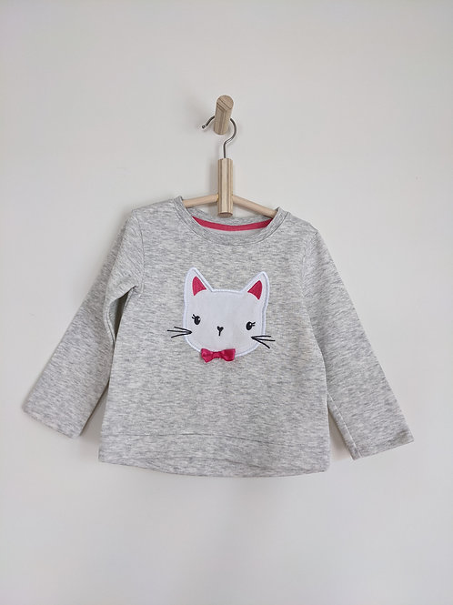 George Kitty Sweatshirt (4T)
