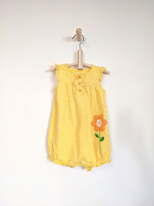 Carter's Yellow Shorty Romper (18M)