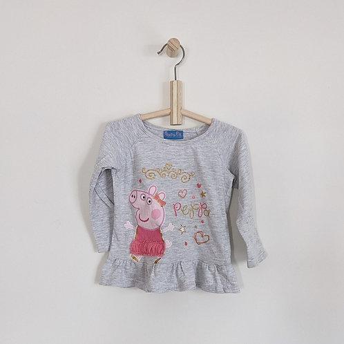 Peppa Pig Long Sleeve Shirt (3T)