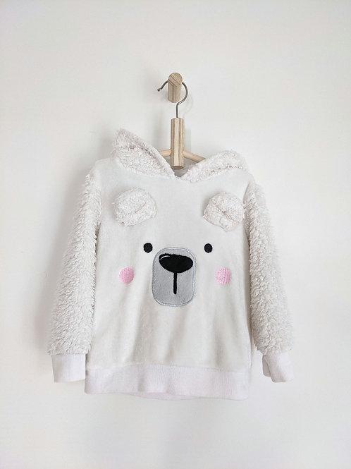 F&F Fluffy Bear Hoodie (4T)