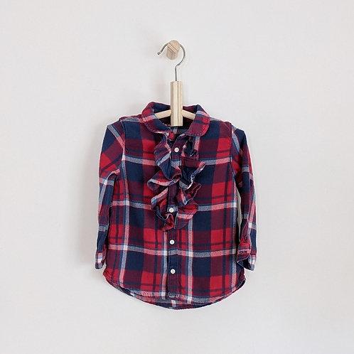 Ralph Lauren Plaid Button Down Shirt (2T)