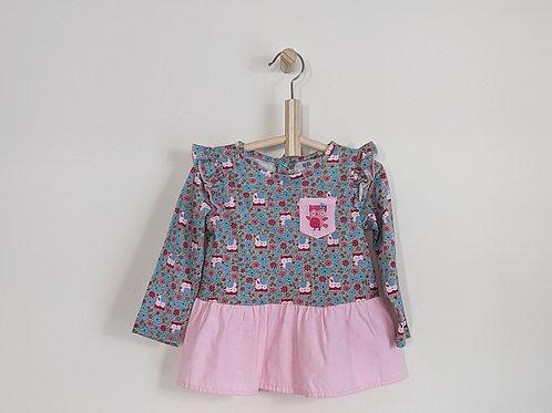 Baby Mode Peplum Shirt (24m)