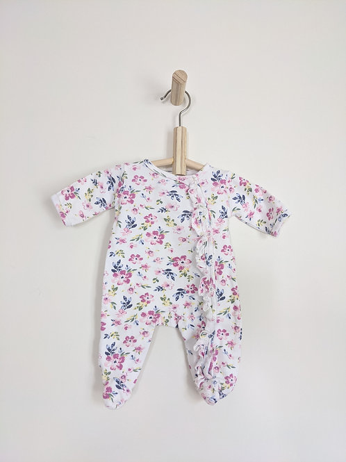 Nicole Miller NY Floral Sleeper (0-3M)