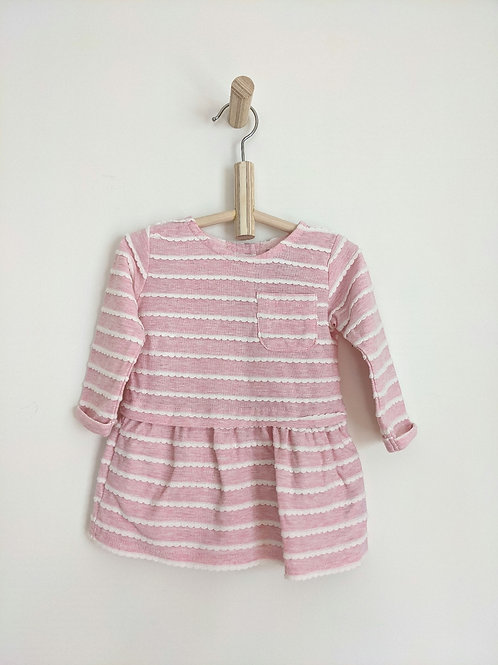 Primark Striped Dress (9-12M)