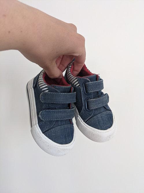Joe Fresh Denim Shoes (size 4)