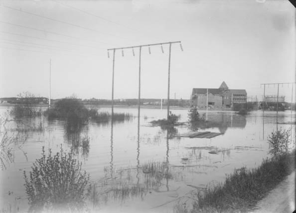 Översvämningen sommaren 1924