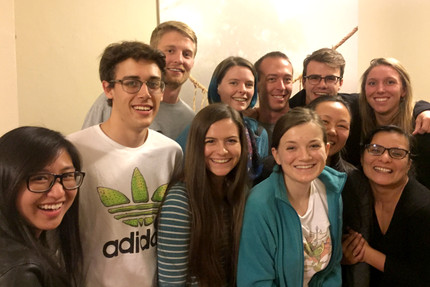 Lab Party at Chez Loc-Carrillo, Nov 2017