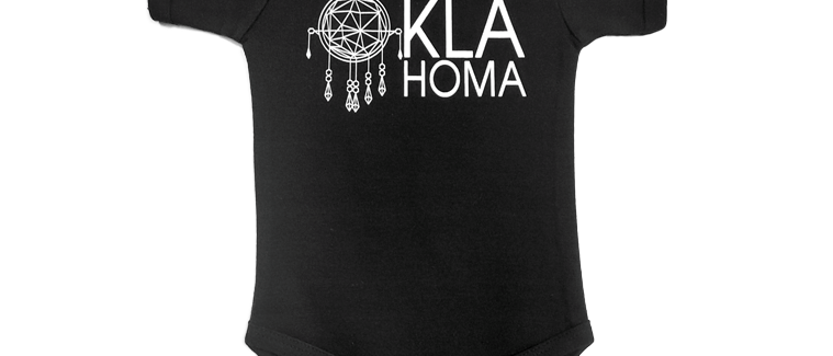 """Oklahoma"" Infant Bodysuit"