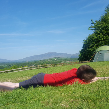 Relaxing and Camping in Graiguenamanagh