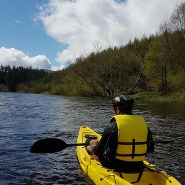 Kayaking in Graiguenamanagh
