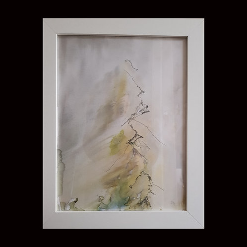 Brand new water colour of striding edge