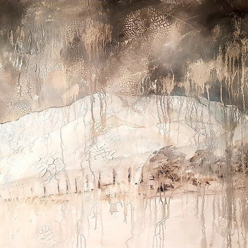 Blencathra in the snow-Sold