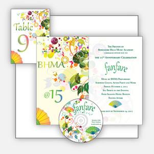 Milestone Fundraiser Invitation and CD
