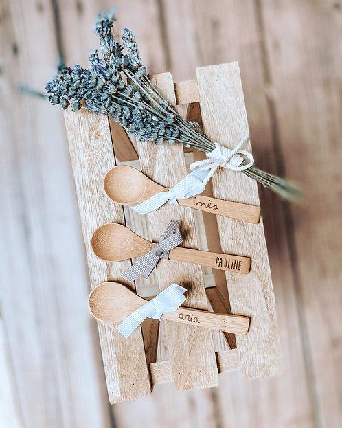 Petite cuillière bambou