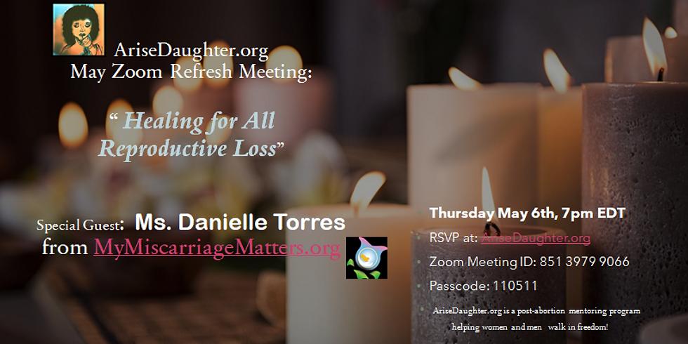 Arise Daughter Zoom Refresh Meeting