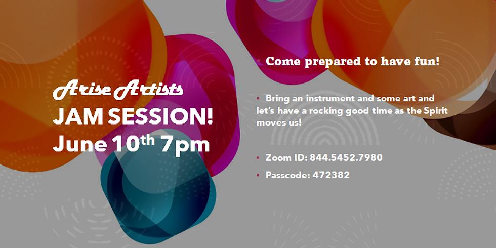 Arise Artists JAM SESSION!