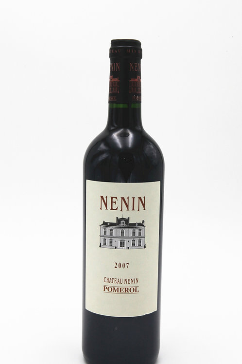 尼南堡酒莊 Ch. Nenin 2007