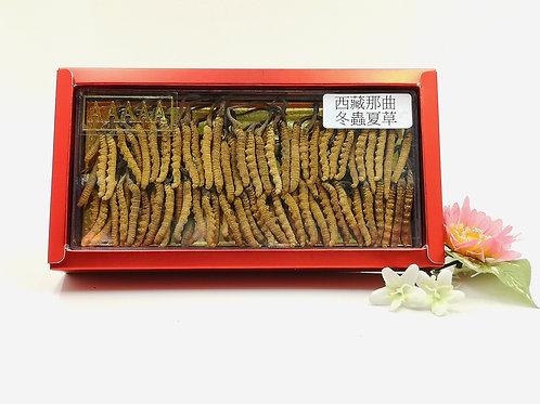 西藏那曲野生頂級冬蟲夏草 1兩 (約75-85條)