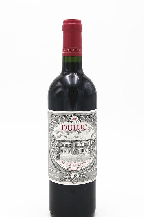 法國周伯通紅酒 Duluc De Branire 2008